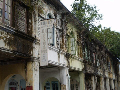 Malacca near Gemas is famous for its Colonial style architecture