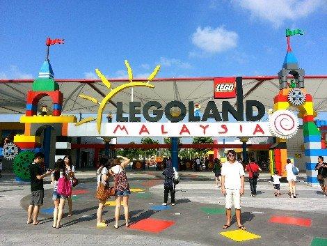 Legoland Malaysia is near Johor Bharu