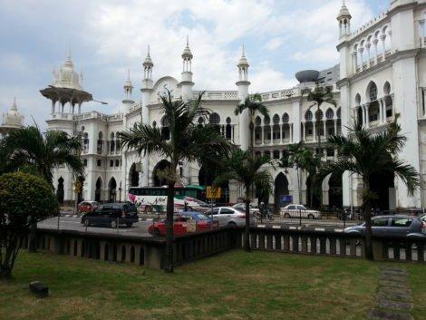 Entrance to Kuala Lumpur Railway Station